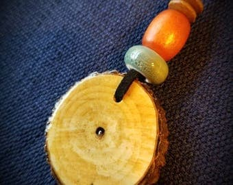 Hand-crafted Oak Necklaces