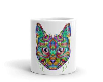 Mug cat mug | cat lover gift | coffee mug | cat coffee mug | funny cat mug | cat lover mug | crazy cat lady mug | kitty mug | kitten mug