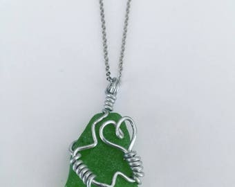 Year Sale Sea Glass Necklace