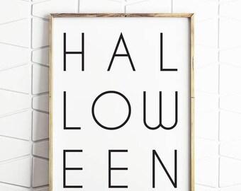 70% OFF SALE Halloween wall art, instant download Halloween decor, Halloween printable, Halloween decor, Halloween wall prints