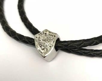 Hylian Shield Zelda inspired charm (fits Pandora)