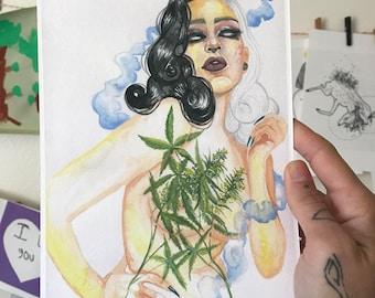 Smokeshow Print
