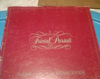 Vintage Trivial Pursuit Master Game Baby Boomer Edtion