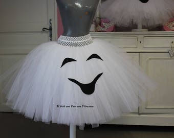 Woman ghost Halloween Tutu skirt