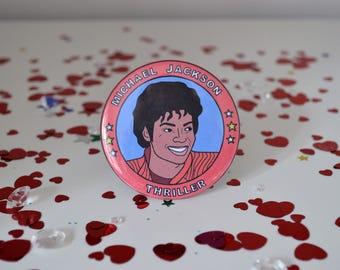 Michael Jackson - 58mm - Badge