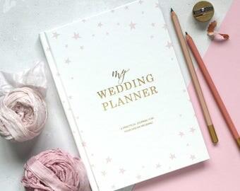 SPECIAL OFFER Luxury wedding planner book, engagement gift, wedding scrapbook, gift for brides, wedding checklist, wedding organizer