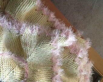 Sideways Knit Blanket Pattern