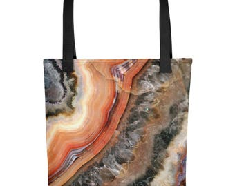 Lake Superior Agate Tote bag