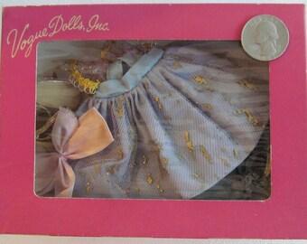 VOGUE GINNY DOLL dress 1950's in original box