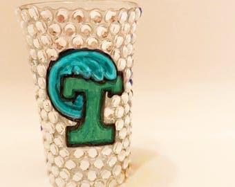 Custom College Shot Glass