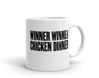 PUBG Winner Winner Chicken Dinner Mug - Free US Shipping