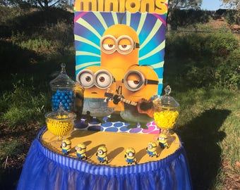 Minions Candy table stand