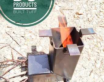 ROCKET STOVE survival prepper portable cooking stove camping