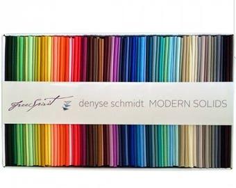 Free Spirit Denyse Schmidt Fat quarter box  75 fat quarter rainbow of colors