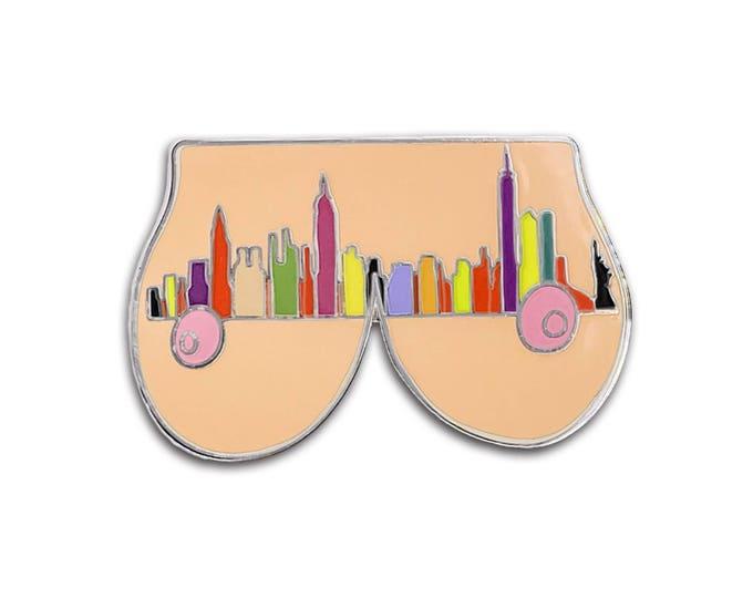 New York Boobs Pin