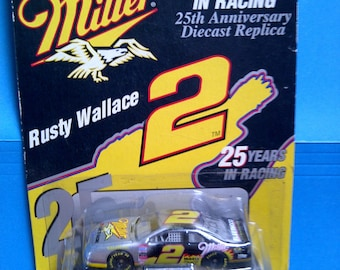Miller Rusty Wallace 25th anniversary