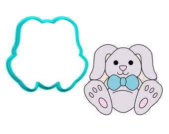 Bunny Sitting Cookie Cutter
