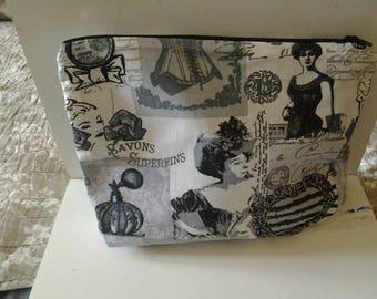Vintage black and grey bag Kit