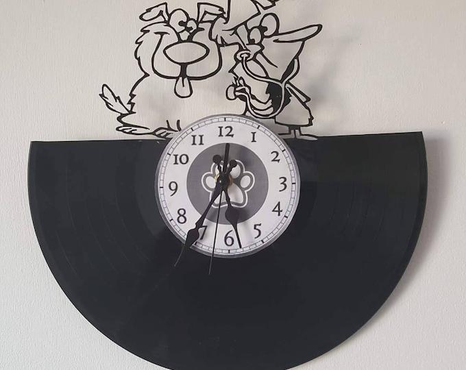 Vinyl 33 clock towers veterinarian theme