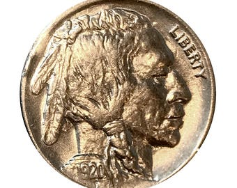 1920 P Buffalo Nickel - Gem BU / MS / UNC