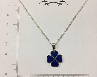 Lapis #2 silver pendant