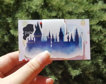 Magical Castle Magnetic Bookmark Single