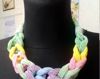 """Necklace handmade """"Colors of summer"""""""