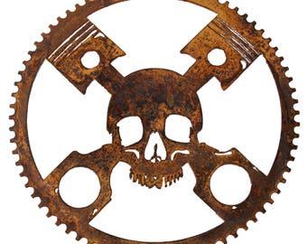 Skull & Pistons Gear