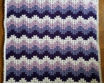 Crochet Granny Ripple Afghan