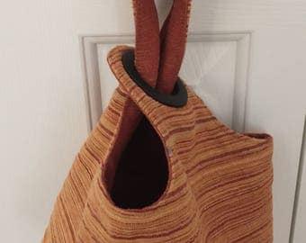 Knit or Crochet Project Bag  by binkwaffle