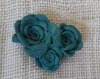Mermaid Rose Pendant