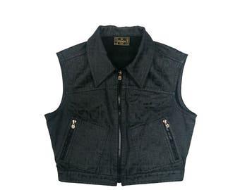 Fendi vintage zucca vest