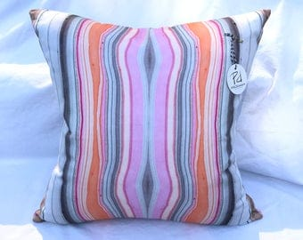 Marbled Print Pillow