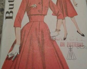 Vintage Butterick Pattern - 2344 - Size 13 - Bust 33 (1963)
