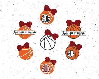 Basketball svg, Girl Basketball Monograms svg Basketball Sport svg SPORT svg Basketball balls svg Basketball Girl svg Cricut Silhouette