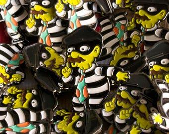 The Simpsons - Krusty Burglar Enamel Pin