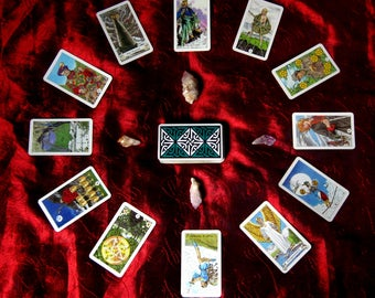 Video Tarot Reading  (1 question )