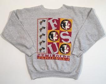 90s Vintage Florida Seminoles crewneck sweatshirt XL