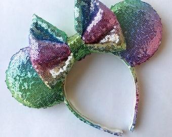 Ombré Rainbow Ears