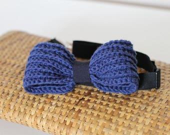 Crochet bow tie for men. Crochet bowtie for man.