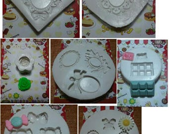 7 mix silicone mold