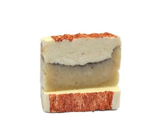 Bar Soap Natural Soap Cold Process Soap Cinnamon Soap Almond Soap Michigan Soap Handmade Bath Soap Soap Gift