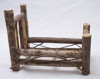 Mini Wood Bed