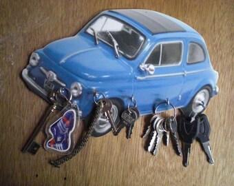 FIAT 600 WALL KEY HOLDER