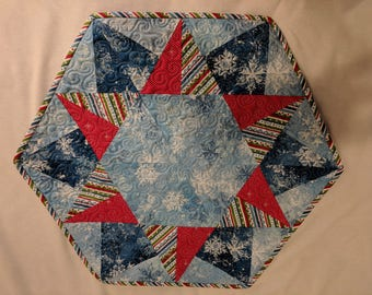 Snowflake Christmas Table Topper