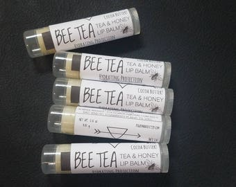 BEE TEA - Tea and Honey Lip Balm