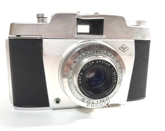 Vintage 1960's Agfa Solina Pronto Viewfinder Camera