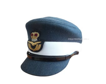 Royal Air Force Officer Female No.1 Peaked Cap - RAF - Size 57 cm - E408