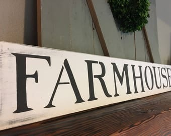 Farmhouse sign, farmhouse decor, rustic