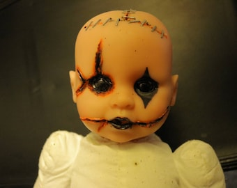 Scary Baby Doll, Clown Face